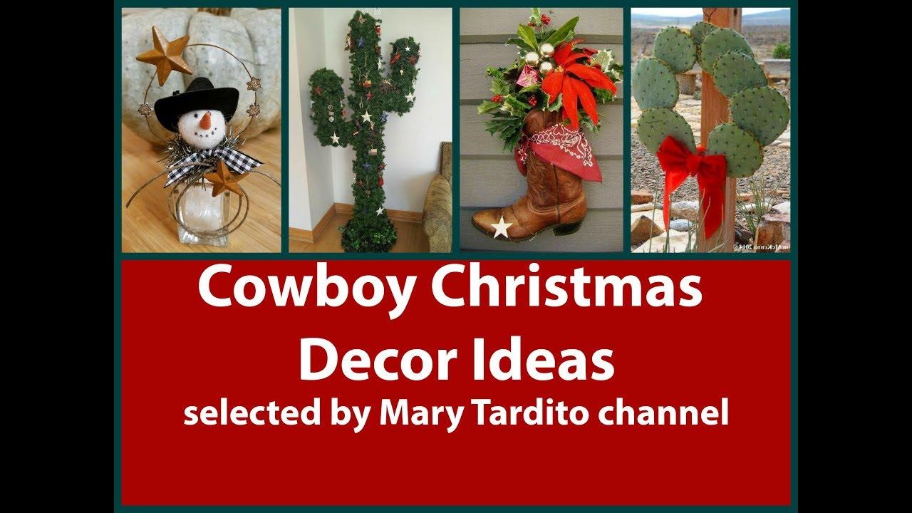 Cowboy Christmas Decor Ideas – Christmas Texas Style Inspo - YouTube