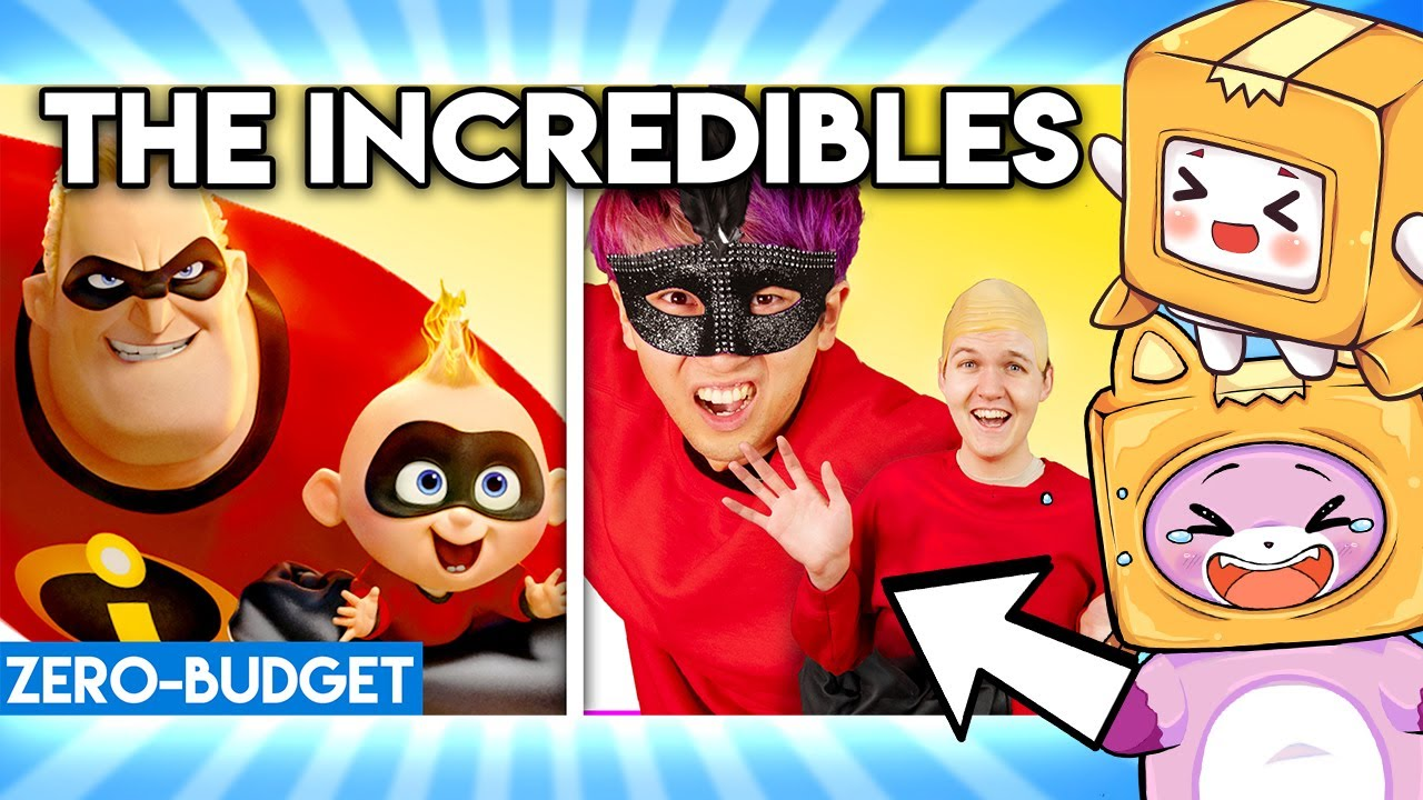 Download THE INCREDIBLES WITH ZERO BUDGET! ('The Incredibles 2' Pixar Movie PARODY FOXY & BOXY REACTION!)