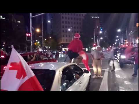 Mate Ma'a Tonga fans Protesting referee decision at Auckland City 2017