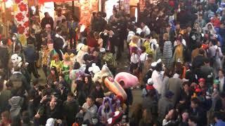 ハロウィン渋谷センター街2017.10/30月曜日Halloween Shibuya Tokyo Jap...