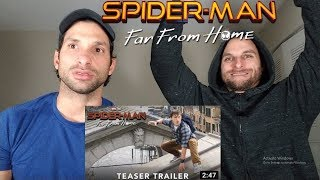 SPIDER-MAN: FAR FROM HOME - Official Teaser Trailer [REACTION]