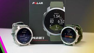 Polar Grit X Outdoor GPS Sportswatch // EVERYTHING NEW!