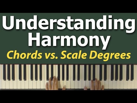 Understanding Chords: Thinking in Scale Degrees
