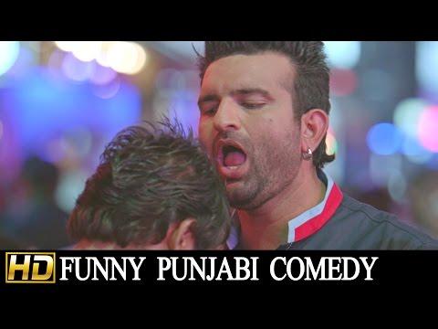 Punjabi Comedy Scene - Canada Di Fish || Navraj Hans || Lokdhun Punjabi