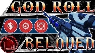 Destiny 2: Beloved God Roll Guide &amp Review  Menagerie Sniper Rifle Recipe PvP Gameplay