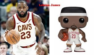 NBA Player As Funko Pop | NBA Pop! Series Basketball Player Funko Pop