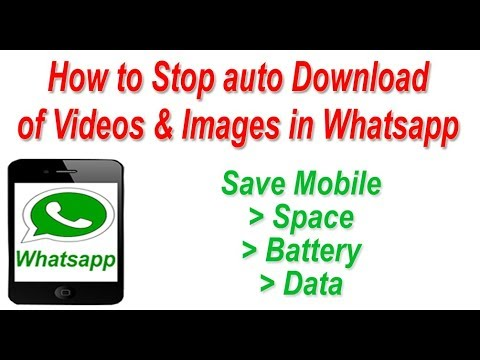 how to stop media auto download in whatsapp