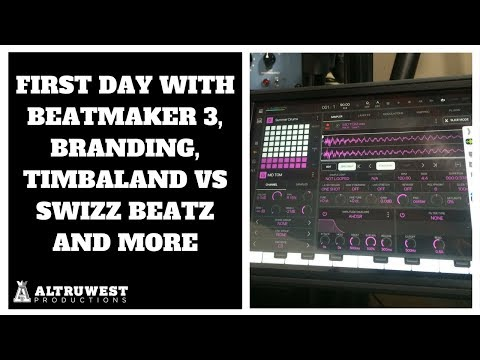 First Day with BeatMaker 3, Branding, Timbaland vs Swizz Beatz and More