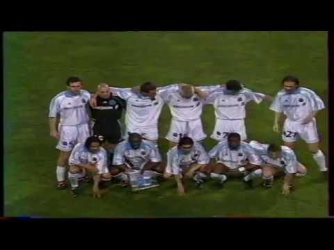 OM 0-0 Bologne 98 99 1/2 finale UEFA avec incidents partie 1
