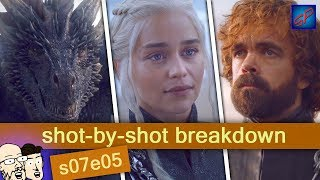 """Game of Thrones s07e05 - """"Eastwatch"""" - Shot-by-Shot Breakdown/Analysis"""