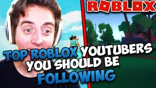 Most Subscribed Roblox Youtubers! You should definitely follow them. (Flamingo, ItsFunneh)
