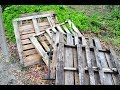 What This Guy Transformed This Old Pallet Into Is Beautifully Brilliant...