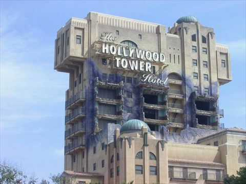Twilight Zone Tower Of Terror Inside Area Music