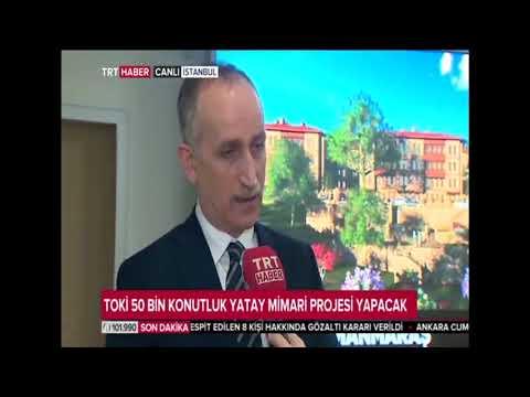 TOKİ Başkanı Ömer Bulut TRT Haber canlı yayınına katıldı