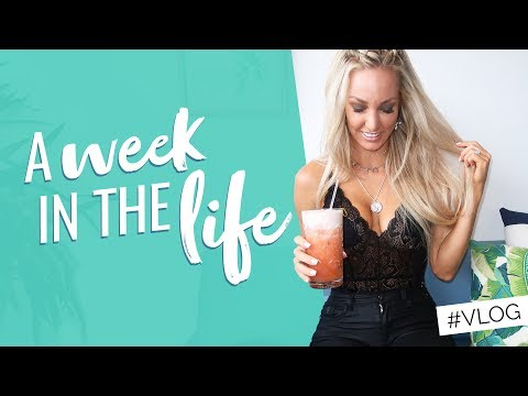 A week in the life as ASHY BINES / VLOG