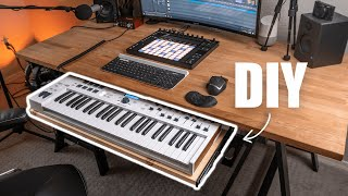 Diy Midi Keyboard Tray (Vlog)...