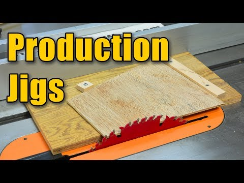 Making Production Jigs: Setting your Table Saw & Miter Saw for Repetitive Cuts