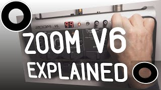 ZOOM V6 HANDS ON EXPLAINED - ALL FUNCTIONS REVIEW