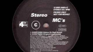 Stereo MC's - Everything (Sabres On Main Street)