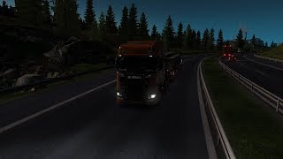 Euro Truck Simulator 2 long journey from Ioannina (Greece) to Paris (France) Part 2