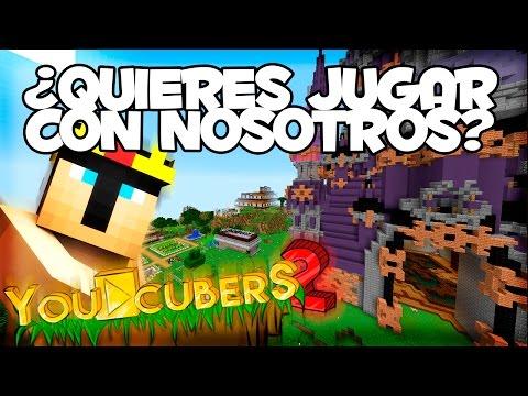 ¿QUIERES ESTAR EN YOUCUBERS 2? #YOSOYDEYOUCUBERS  - Serie Survival Minecraft 1.10