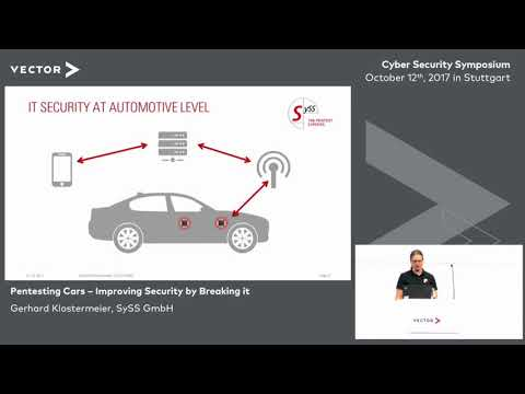 Pentesting Cars – Improving Security by Breaking it