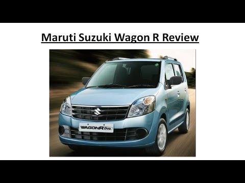 Maruti Suzuki Wagon R Review