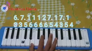 Not pianika Ayah Ku Kirimkan Doa cover Faustinus Dama