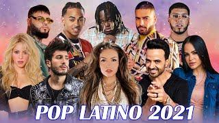 POP LATINO 2021 - REGGAETON MIX 2021 - LUIS FONSI, SEBASTIAN YATRA, REIK, MALUMA, BECKY G, CNCO - best reggaeton music videos