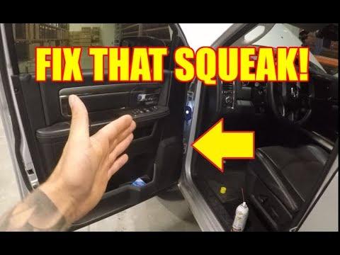 How To Stop Squeaking Doors On Your 2009 2018 Ram Truck Trucktalk 34 Youtube
