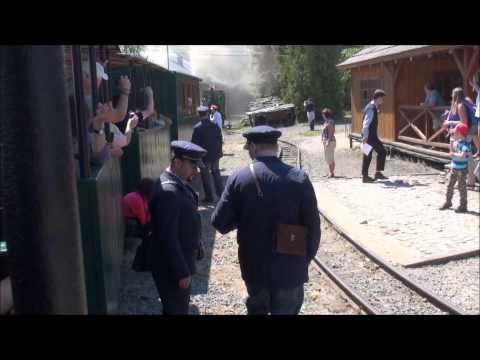 Parní lokomotiva - Mladějov na Moravě | FULL HD