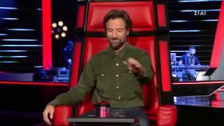 Ο Κωστής Μαραβέγιας τραγούδησε πολύ στα blind auditions