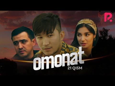 Omonat (o'zbek serial) | Омонат (узбек сериал) 21-qism #UydaQoling
