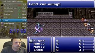 Final Fantasy VI Speedrun Highlight: Icy Touch of Death