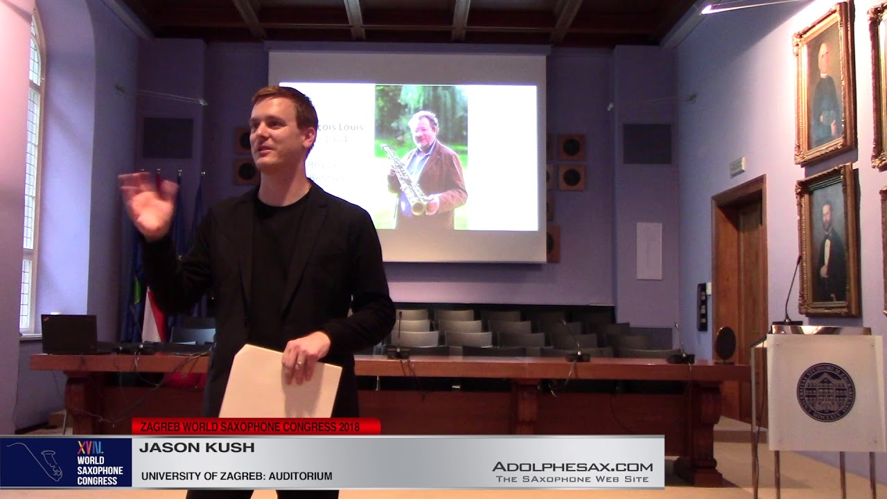 Lecture: The Aulochrome: An exploration of Franc?ois Louis´revolutionary invention by Jason Kush  XV