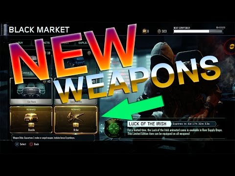 Hunting for Galil, Ballistic Knife, M16, PPSh, Luck of The Irish (Black Ops 3 Supply Drop Opening)