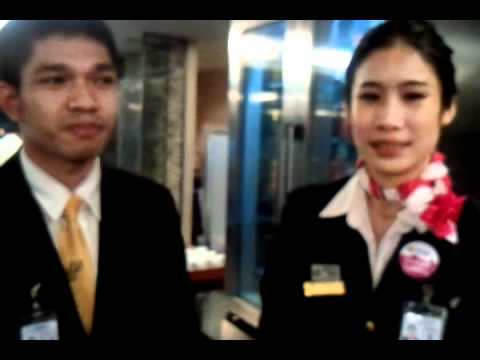 Student Trainees at Suvarnabhumi Airport