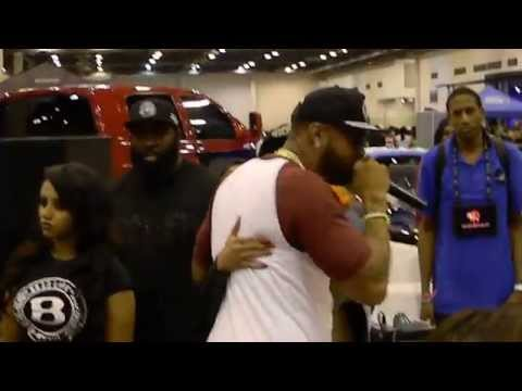 Slim Thug live at The CarShow 2014