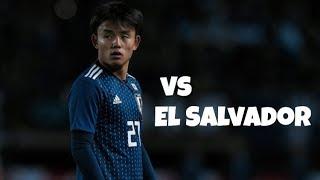 [A代表デビュー] 久保建英vsエルサルバドル|2019.06.09| Takefusa Kubo vs El Salvador