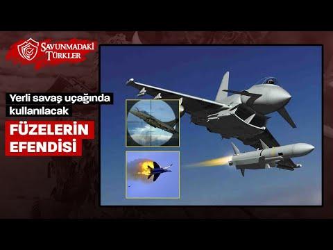 Füzelerin efendisi: Milli savaş uçağında kullanılacak I Gökdoğan - Bozdoğan