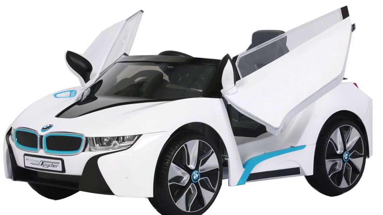Kids Electric 12v Official Bmw I8 Car Youtube
