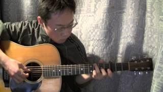 【ソロギター】風の通り道 / 久石譲 / となりのトトロ