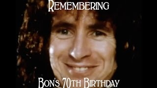 Bon was born 70 years ago today!