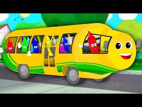 Wheels On The Bus | Nursery Rhymes | Kids Song | Children Rhymes
