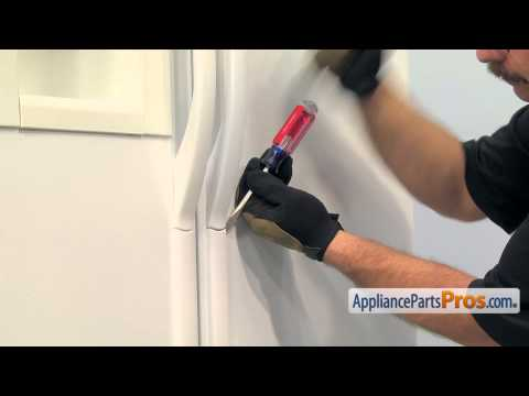 Refrigerator Handle Mounting Block (part #218396700) - How To Replace