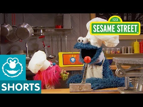 Sesame Street: Fruit Salad with Grapes   Cookie Monster's Foodie Truck
