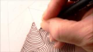 How to draw tanglepattern Isochor