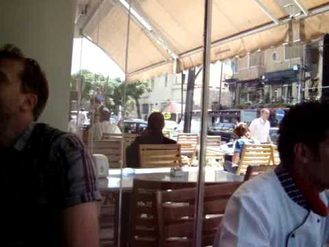 Downtown Cafe in Damascus