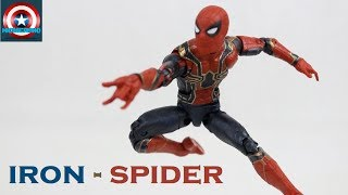 Marvel Legends Iron-Spider Spider-Man (Thanos Avengers Infinity War BAF Wave) Review