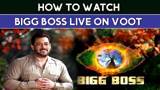 How to Watch Big Boss 15 Live on Voot 2021  Bigg Boss Live Kaise Dekhe  How to Watch Voot on Laptop screenshot 5
